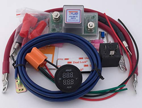 True UTV-SBI-CM UTV Dual Battery Connect & Monitor Kit