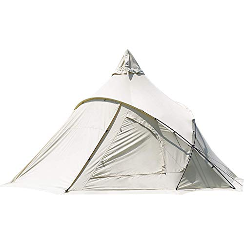 Instant pop up camping tents for 5-8 person family, 4.4m luxury tent, ventilated and suitable for outdoor trips and excursions