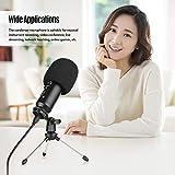 Immagine 1 ammoon microfono a condensatore usb