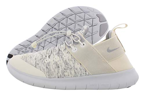 Nike Womens Free Rn Commuter Fitness Sneaker Running Shoes Ivory 6 Medium (B,M)