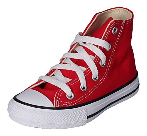 Converse Chucks Kinder 3J232C AS HI CAN Red Rot, Groesse:33 EU