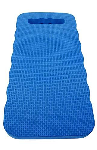 eyepower Estera de Protección para Rodillas 46x23cm Almohadilla para arrodillarse Sentarse en el Suelo Extra Gruesa 2,5cm Azul