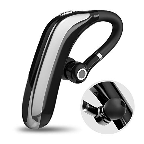 Micool Bluetooth Headset V5.0, Schnellladung, Wasserdicht IPX7, Noise Cancelling, Hands Free Bluetooth für Handy