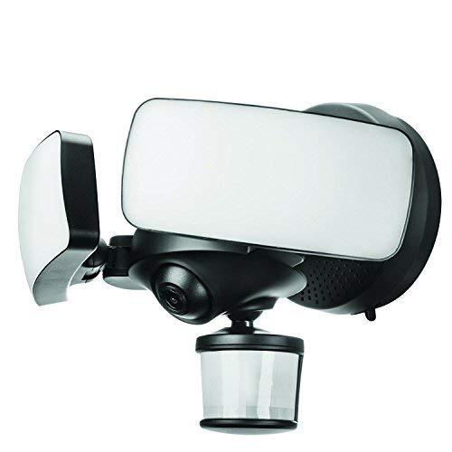 Maximus Camera Floodlight Black Compatible with Alexa