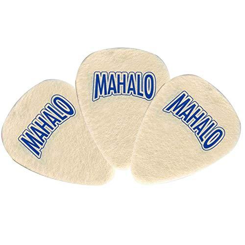 MAHALO ウクレレ用フエルトピック ティアドロップ型 3mm 3枚セット FP32/BAG