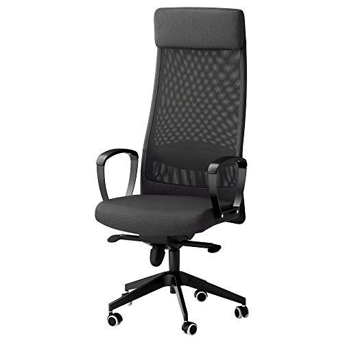 IKEA Markus Swivel Chair, Vissle Dark Gray