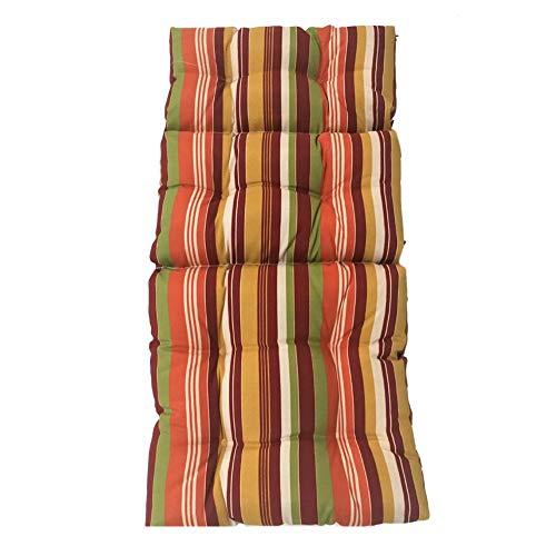 Terynbat Cojín para banco de interior y exterior, cojín de ratón, para el ocio, para silla reclinable, 12050 cm D.