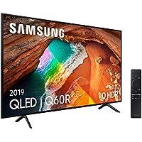 """Samsung QLED 4K 2019 65Q60R  - Smart TV de 65"""" con Resolución 4K UHD, Supreme Ultra Dimming, Q HDR, Inteligencia Artificial 4K, One Remote Control, Apple TV y compatible con Alexa"""