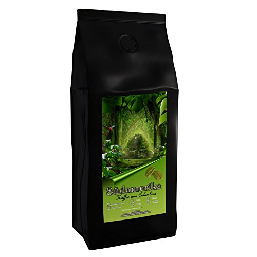 Kaffeespezialität Aus Südamerika - Kolumbien, Dem Kaffee-Dreieck Der Aromen (Gemahlen, 500 Gramm) - Länderkaffee - Säurearm - Schonend Und Frisch Geröstet