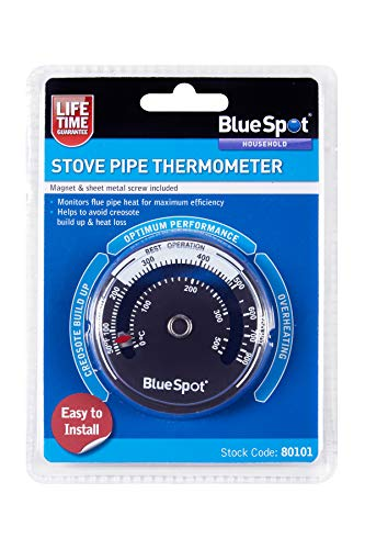 Blue Spot Tools 80101 Stove Pipe Thermometer