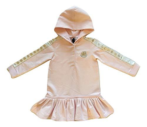Moncler Junior Abito Vestito con Cappuccio da Bambina 8I70710 Rosa (3 Anni)