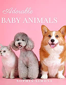 Adorable Baby Animals A Beautiful Picture Book Photography Coffee Table Photobook Animal Guide Book With Photos Images Of Cute Kittens Puppies Of Cats And Dogs Simone Sophia Amazon Com