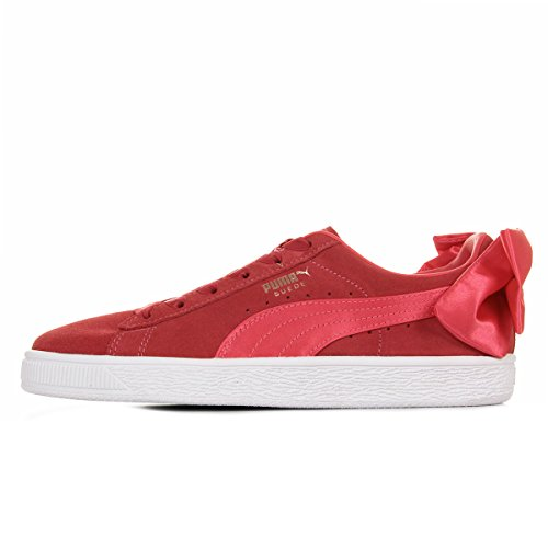 Puma Suede Bow Jr Paradise Pink-Paradise Pink 36731602 !!it damskie Sneakers (39, Paradise Pink/Paradise Pink)