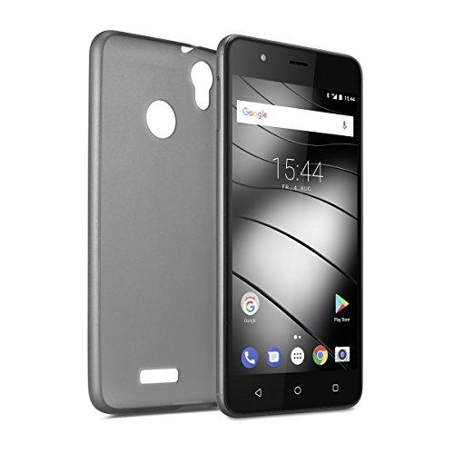 Gigaset Smartphone Hülle - Protective Case zum Schutz für Ihr Handy - Schutzhülle anti-scratch - Rundum-Schutz Zubehör - Cover Shell - für GS270 / GS270 Plus in transparent