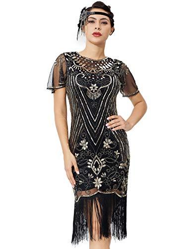 Vestido Dorado  marca Silkis