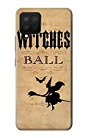 JP2648A12 ヴィンテージハロウィン魔女ボール Vintage Halloween The Witches Ball Samsung Galaxy A12 ケース