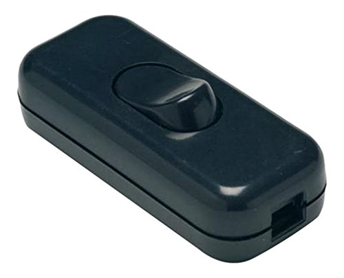 Famatel - Interruptor paso 2a-250v negro(blister)