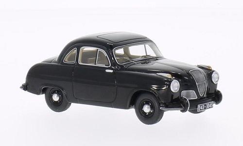Hanomag Partner, schwarz, 1951, Modellauto, Fertigmodell, BoS-Models 1:43