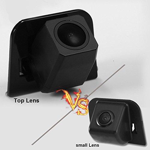 kalakus Super Star Light Pro HD voiture caméra de recul aide au stationnement améliorée avec 8IR Vision nocturne 170 degrés grand angle étanche borkhoche Defination (Noir) pour Prius FROM 2012