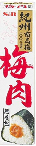 S&B 梅肉(無着色) 40g