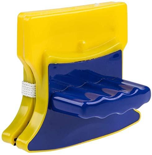 HSJ LF- Limpiador de Vidrio magnético de Doble Lado, Cepillo de Limpiador de Ventana magnética para Lavar Ventanas Brocha magnética para Lavado de Vasos Herramientas de Limpieza para el hogar Limpio