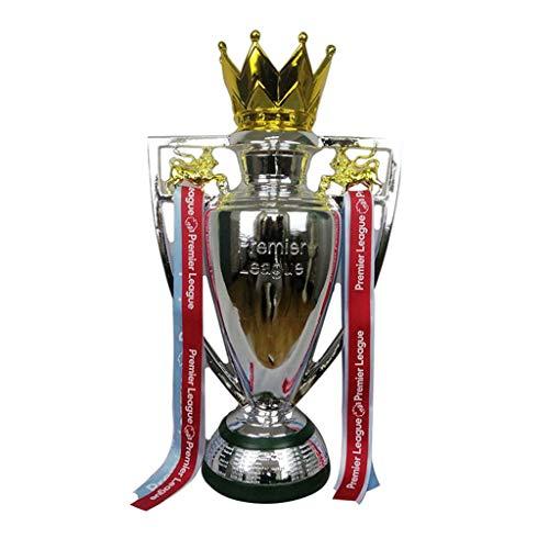Trofeo de la Premier League Liverpool Chelsea Manchester City ventiladores suministros cinta roja resina Fanático del fútbol recuerdo artesanía galvanoplastia Modelo copa de partido de fútbol Rép