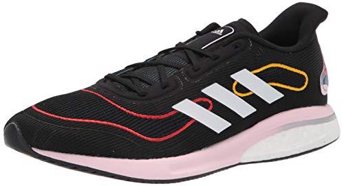adidas Supernova, Zapatillas de Running Mujer, Negro Blanco Vivid Rojo, 38 EU