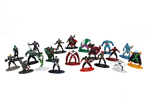 Jada Toys Marvel 1.65' Die-cast Metal Collectible Figures 20-Pack Wave 4, Toys for Kids and Adults (30815)