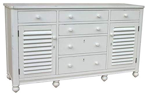 Lowest Price! Trade Winds Chest of Drawers Newport Painted White Mahogany Frame New