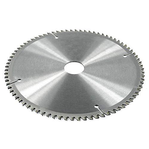 Concord Blades – Hoja de sierra circular de corte de metales no ferrosos BE-TOOL TCT 10', 80T, 210×30mm, apto para cortar acero, aluminio, hierro y metales no ferrosos, madera y plásticos