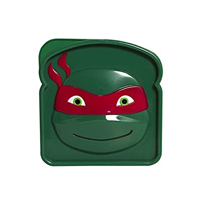 Evriholder Nickelodeon TMNT Snack-O-Sphere Lunch Box, Colors May Vary