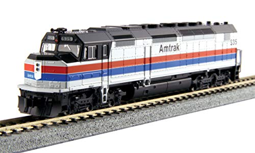 Kato N Scale SDP40F Type I Amtrak Phase II Road #535 DCC Installed #176-9204-DCC