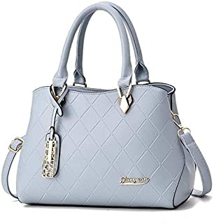 TCSLBP Handbags pu female bag metal sheets decoration Solid Messenger Bag sweet lady fashion Cross Body Bag luxury women shoulder bag