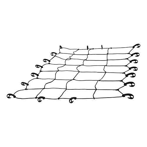 CURT 18201 65 x 38Inch Elastic Cargo Net with Hooks for Roof Basket