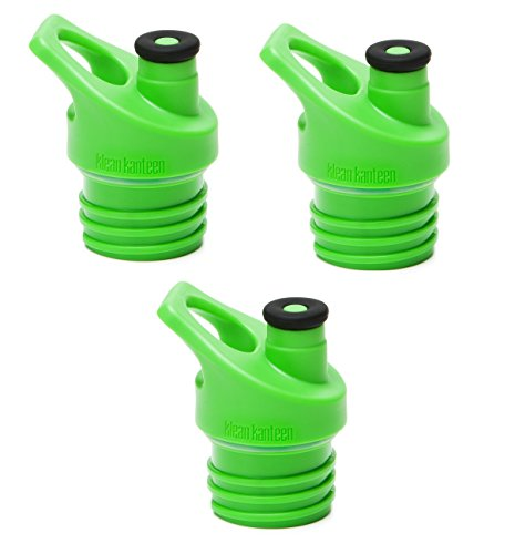 Klean Kanteen Sport Cap 3.0 Replacement Cap Green - 3 Pack
