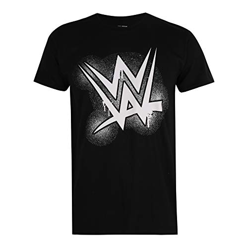 WWE Herren Paint T-Shirt, Black, X-Large