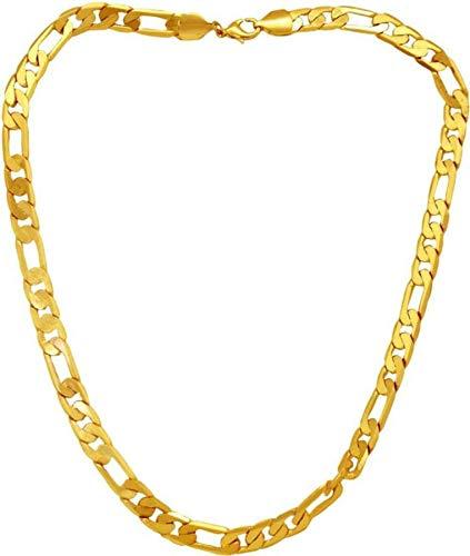 Zewar 8089 Halskette, vergoldet, für den täglichen Gebrauch, 50 cm