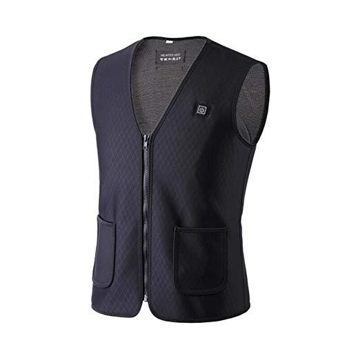 Bilgftg vest voor sport in de open lucht, thermojack voor de winter, elektrisch verwarmingsvest, USB-opladen
