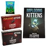 Xb Exploding Kittens: Un Juego de Cartas - En Inglés, Juegos de...