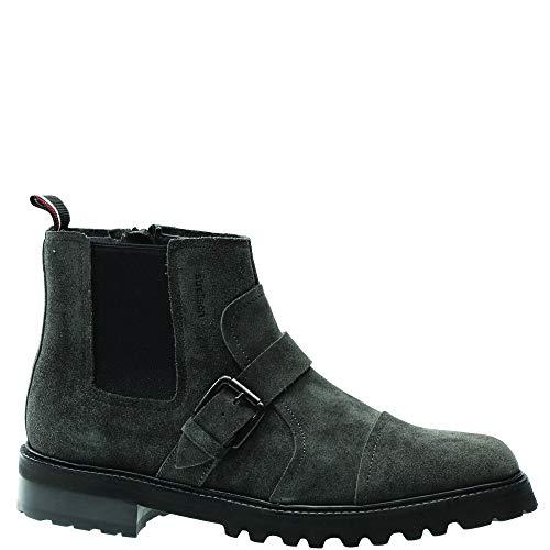 Strellson Herren nimo nico Boot mfz 2 Klassische Stiefel, Grau (Dark Grey 802), 41 EU