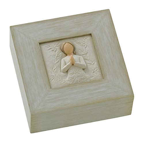 Willow Tree a Tree, a Prayer, Sculpted Hand-Painted Memory Box