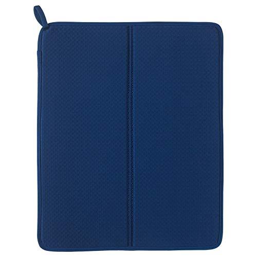 Ikea Nysköljd Tapis égouttoir Bleu NYSKOLJD 44 x 36 cm UK-B786