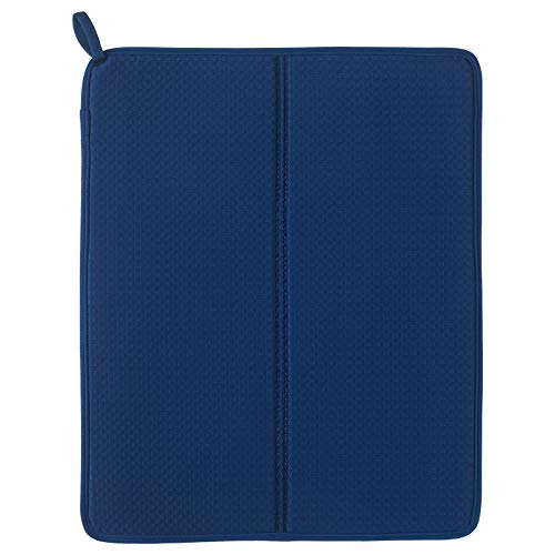 IKEA Schaal Droogmat NYSKÖLJD Schaal Afzuigmat Blauw NYSKOLJD 44x36 cm UK-B786