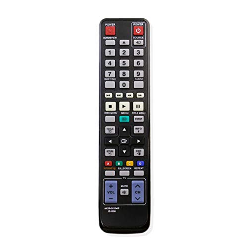 VINABTY AK59-00104R Ersatz-Fernbedienung für Samsung Blu Ray Player BD-C5500 BD-D6100C/ZA BD-C7500 BD-D7500B BD-C6900 BD-C5300 BD-5500C BDC5500XTC