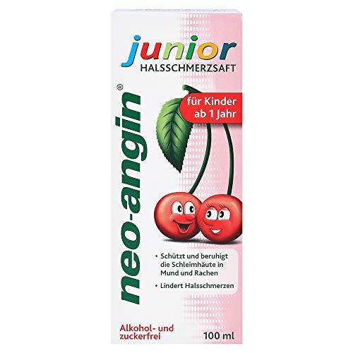neo-angin junior Halsschmerzsaft, 100 ml Saft