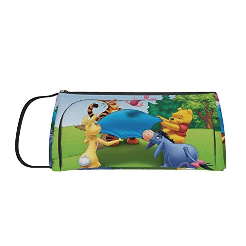 Astuccio grande capienza, Happy Winnie The Pooh multi-slot portapenne, borsa per studenti, scuola, ufficio