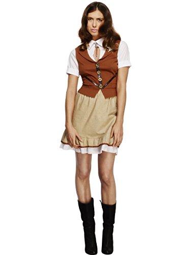Smiffy's - Fiebre disfraz de Sheriff para mujeres (43483S)