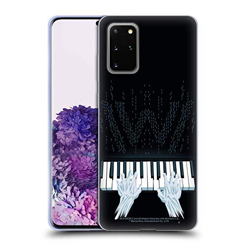 Head Case Designs Offizielle Westworld Piano Grafiken Soft Gel Handyhülle Hülle Huelle kompatibel mit Samsung Galaxy S20+ / S20+ 5G