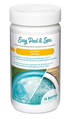 BAYROL Easy Pool & Spa Heber/pH-Plus 1 kg, Weiß