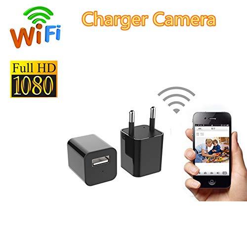 USB-Oplader Cam, Mini 4K WIFI Camera HD Draadloze Camcorder Beveiliging, DV-Videorecorder Micro Cam, Babycamera Monitor Camcorder IP-Camera Voor Smart Home